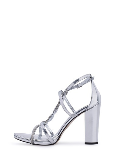 Via Dante Klasik Ayakkabı Gümüş